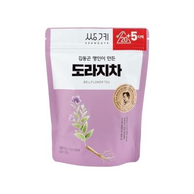 [쌍계명차]파우치 김동곤명인이 만든 도라지차 20티백