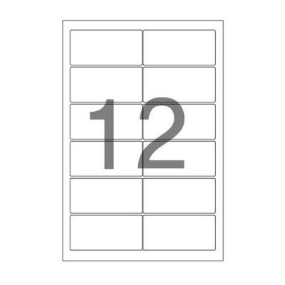주소용 라벨(LS 3212 100매 12칸 폼텍)