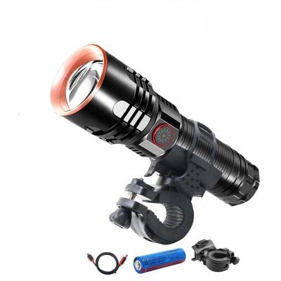 XHP70 LED 자전거 전조등 랜턴 안전등 자전거라이트