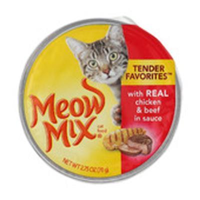 미유믹스 리얼 치킨과 비프78g 고양이캔