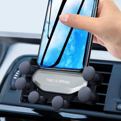 거미손 스마트폰 송풍구거치대 2color