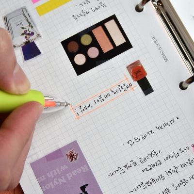 5way Color Pen (형광피치,형광옐로우 포함 5색심)