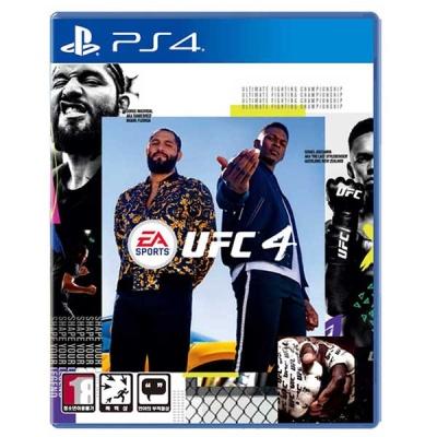 PS4 UFC 4 한글판