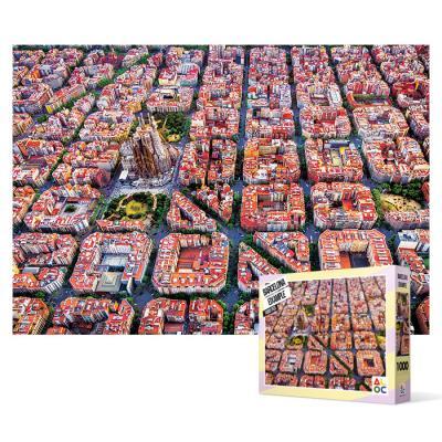 1000피스 직소퍼즐 - 바르셀로나 에삼플레