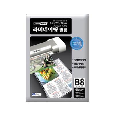 라미에이스 고급형 코팅필름 100MIC B8(100매)