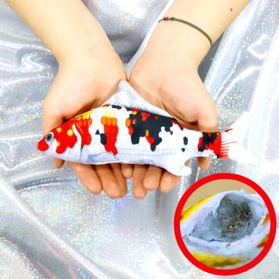 물고기 고양이 캣닢 장난감 용품 20cm (비단잉어)