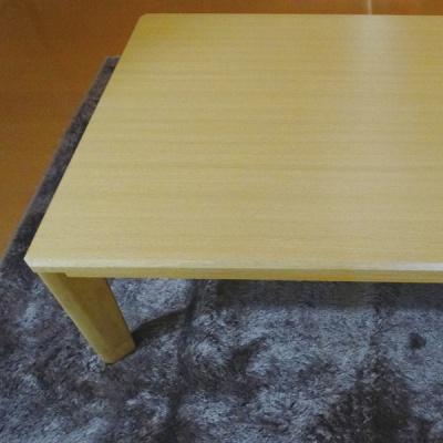 장방형 코타츠 테이블 JCW 105 라이트브라운