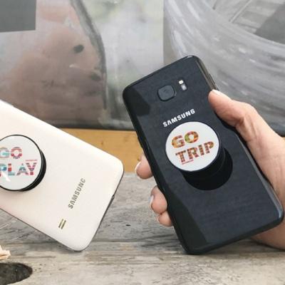 핸드폰 스탠드 받침대 휴대폰 거치대 홀더 올블랙