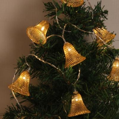 감성 10구 USB LED 종 가랜드 전구 크리스마스 줄조명