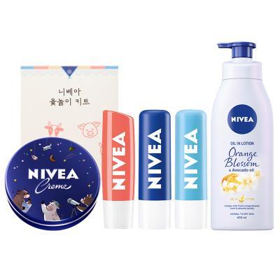 니베아 로션1+립밤3개+크림1+윷놀이키트1 J세트 1개