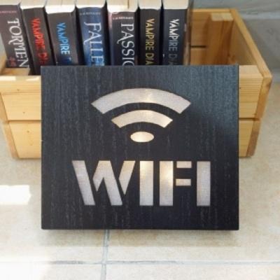 LED조명 와이파이 표시 와이파이존 사인보드 카페