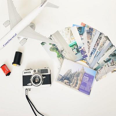 왈가닥스 트래블 포스트카드 비엔나 엽서 12P 세트