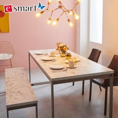 [e스마트] 스틸마블 6인용 식탁테이블 1800x800