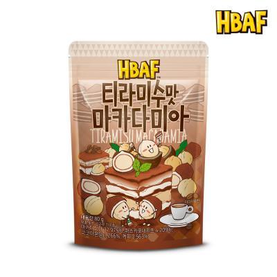 [길림양행] 티라미수맛 마카다미아 80g
