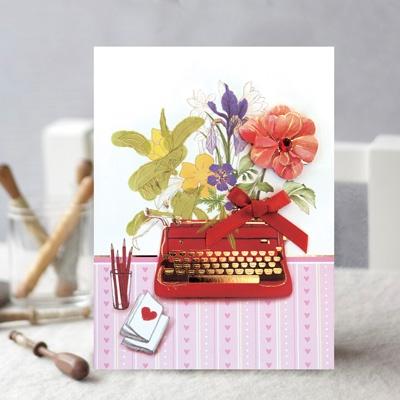 정물 꽃 카드 FT1039-5