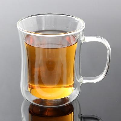 [로하티]벨르 이중유리컵/ 내열유리 홈카페 음료잔