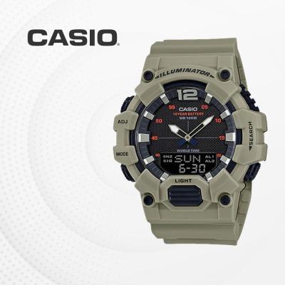 카시오 군인 군용 전자 남성 손목시계 HDC-700-3A3