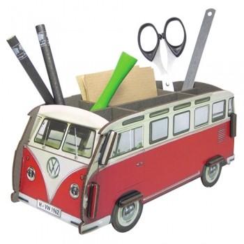 연필꽂이 레드 버스 Pen Box Red Bus