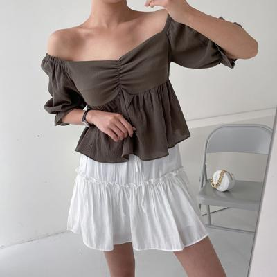 Grove Puff Off Blouse