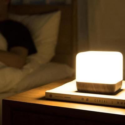 큐브 타이머 LED 테이블 무드등 조명 수면등 취침등