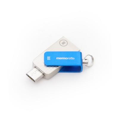 [메모렛] MS500 mini 64G 메탈 SMART OTG USB메모리