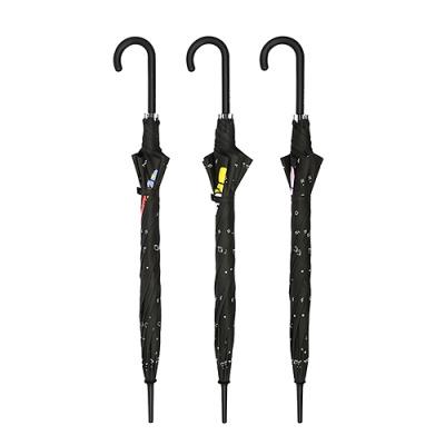 [BT21] 블랙 패턴 자동 장우산