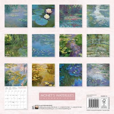 2021년 캘린더(FT) Monet`s Waterlilies