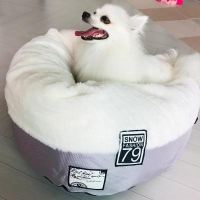스노우펫 강아지 애견 도넛 마약 방석 쿠션