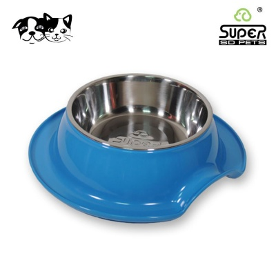 수퍼펫 클린보울 오션블루 (강아지 고양이겸용)