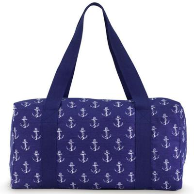 [ALL FOR COLOR]Large Square Duffle 대형 사각 보스턴백(시그너처)-Anchor Way