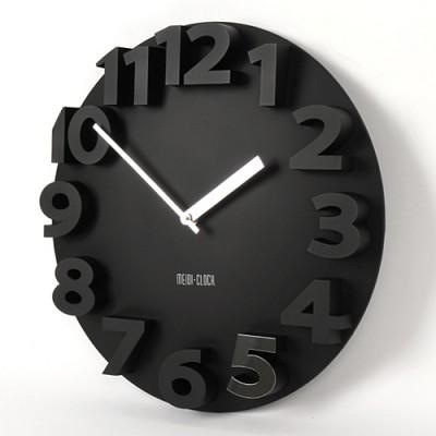 New 입체 숫자 벽시계(40cm)