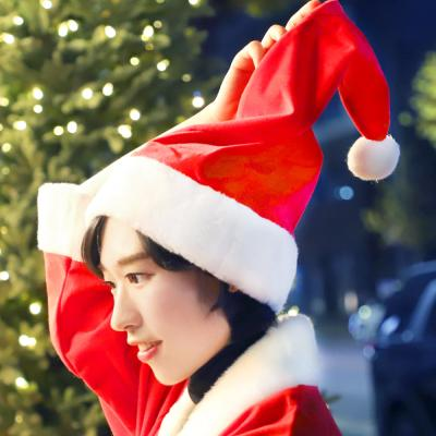 여성용 산타 모자 (국산/ 고급형)