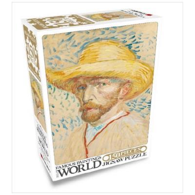 세계명화 직소퍼즐 150 밀집모자를 쓴 자화상