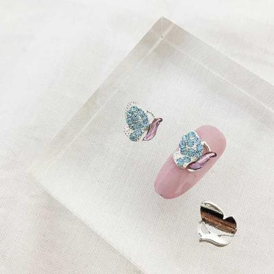 Woman bonita nail parts 나비아쿠아퍼플 1개