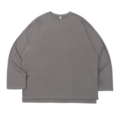 CB 아콘 롱 티셔츠 (라이트그레이)