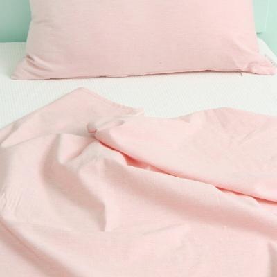 부드러운 멜란 핑크 여름이불