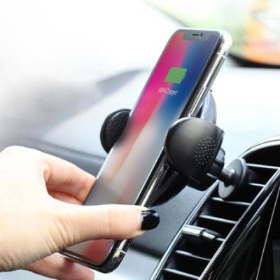 뉴엔에스 차량용 무선충전 휴대폰 거치대