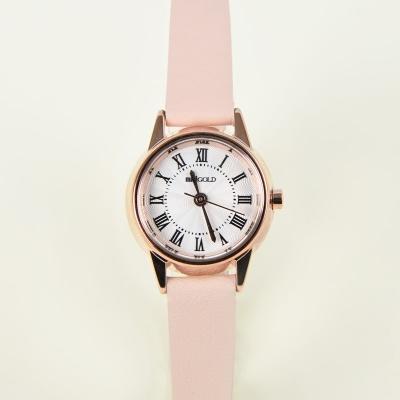 레트로 라운드 시계 핑크 WOO001LWPK