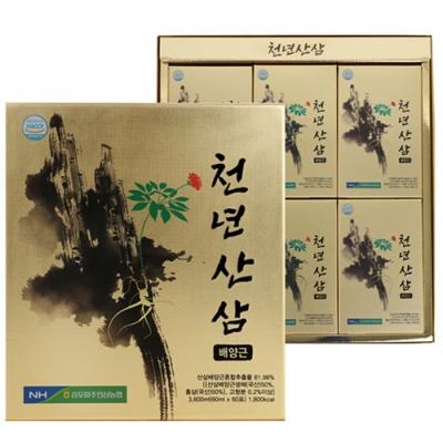 [김포파주인삼농협] 천년산 삼배양근 60mlx60포