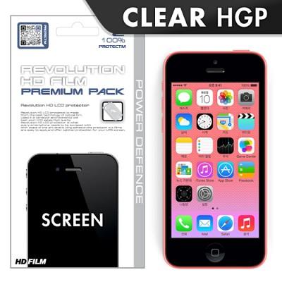 [프로텍트엠/PROTECTM] 아이폰5c/iPhone5c 레볼루션HD 올레포빅 투명유광 액정보호필름