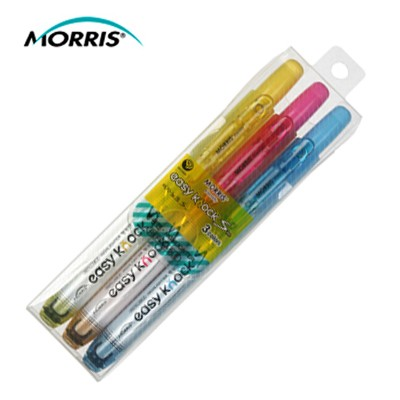 모리스 이지노크S 형광펜 3색세트 MRH-105-3S