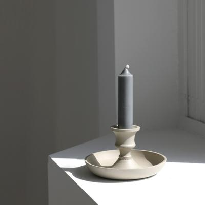 알루미늄 촛대 6cm (아이보리)