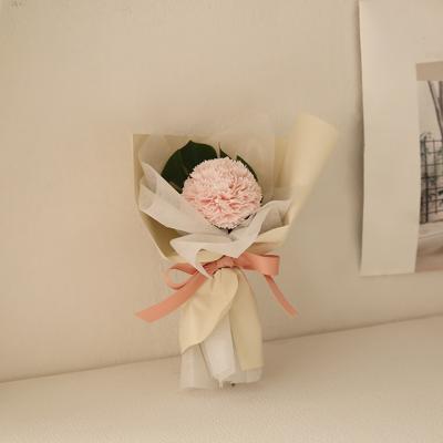 퐁퐁 한송이 비누꽃다발 [3color]