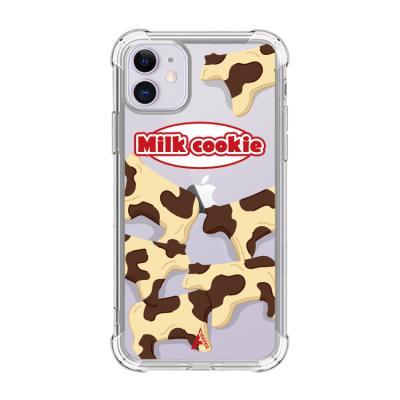 뮤즈캔 ADEEPER 아이폰 11 밀크 쿠키 티켓 케이스