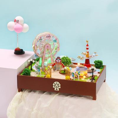 DIY 미니어처 놀이동산 - 파라다이스