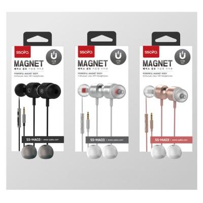 싸코 MAGNET (베이스강조) 저음형 이어폰 SS-MA03