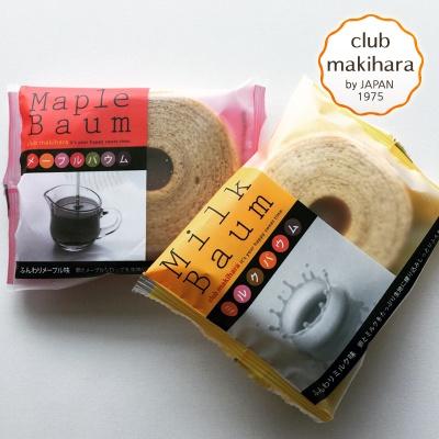 나이테빵 바움쿠헨(밀크,메이플) 6봉
