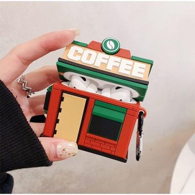 에어팟 1/2/3/프로 커피하우스 특이한 실리콘 케이스