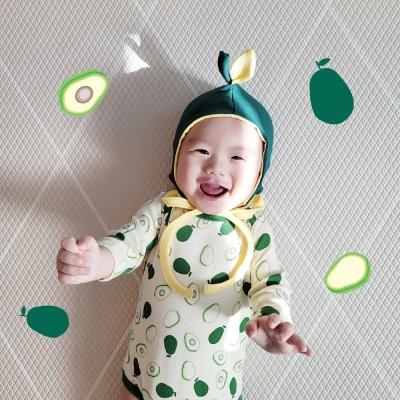 [출산/백일선물]과일세트/보넷+슈트,실내복 2종set