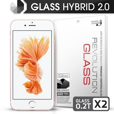 [프로텍트엠] 레볼루션글라스 하이브리드2.0 강화유리 방탄액정보호필름 아이폰6S/6 iPHONE6S/6 4.7인치